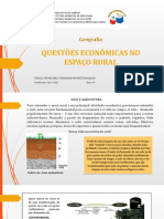 8º ANO - GEOGRAFIA - 33 - QUESTÕES ... ESPAÇO RURAL II SLIDE