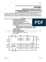 AK4386ET - Asahi Kasei Microsystems Co., Ltd. (AKM) - Datasheet.Support