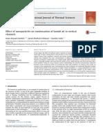 condensation avec nanoparticules