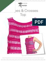 Stripes+&+Crosses+Top