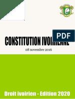 La-Constitution-Ivoirienne-2016 -ED 2020_comp