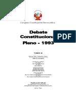 Diario de Debates Pleno Constitucion 1993 - Tomo 3.pdf