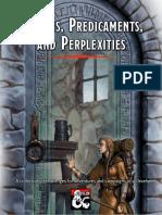 Steve Jaspor Orr - Puzzles Predicaments and Perplexities