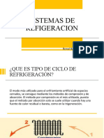 SISTEMAS DE REFIGERACION
