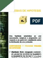 PRUEBAS DE HIPOTESISpara la mediaFondoBlanco