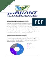 Jubliant LIfe Sciences