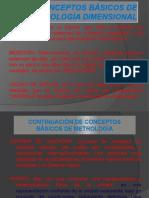 CONCEPTOS BÁSICOS DE METROLOGÍA DIMENSIONAL