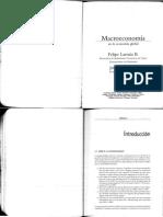Larraín, F.; Sachs, J. Macroeconomía en la economía global. Cap. 1, 2 y 6
