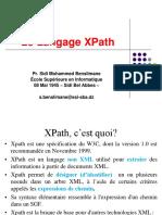 Cours IV XPath-2019-2020