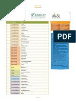 Checklist de Cicloturismo - Ate Onde Deu Pra Ir de Bicicleta