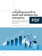 Unlocking growth in small and medium-size enterprises