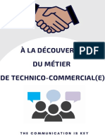 projet de technico-commercial(e)
