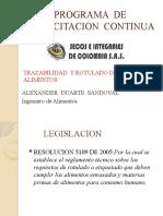 CAPACITACION 291020 ROTULADO, ALERGENOS, INOCUIDAD