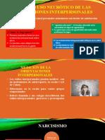 USO SANO USO NEURÓTICO DE LAS ORIENTACIONES INTERPERSONALES