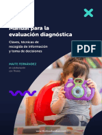 Manual para la evaluación diagnóstica