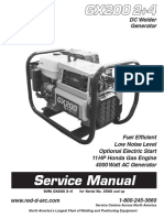 GX200 Operator Service Manual