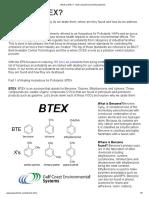 What is BTEX_ - Gulf Coast Environmental Systems
