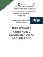 Manufactura Asistida por computadora 1