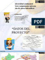 PPT DE DISEÑO DE OBRAS HIDRAULICAS