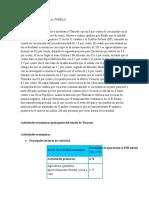 Actividades económicas principales del estado de Tlaxcala