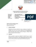 SALA CONSTITUCIONAL DECLARA IMPROCEDENTE ACCION DE AMPARO DE LA MUNICIPALIDAD DE LIMA