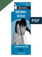 4. Build Children's Self Esteem