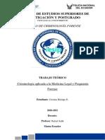 Criminología Aplicada a La Medicina Legal y La Psiquiatría Forense