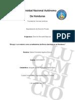 Ensayo Los notarios como acreditadores de firmas electrónicas en Honduras