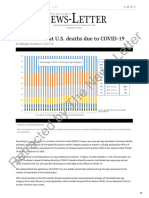 A Closer Look at U.S. Deaths Due to COVID-19 - The Johns Hopkins News-Letter
