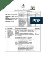 Rapport de la séance du 17 Août 2020_esther