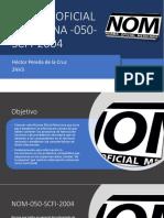 2NV3 NOM 050 Hector Pereda