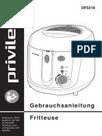 Privileg Friteuse DF5318