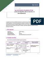 Guía de producto académico final