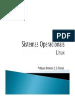 Sistemas Operacionais Linux Introdução