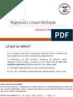 Regresión Lineal Multiple (1)