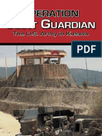 Operation Joint Guardian The U.S. Army in Kosovo