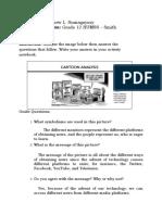 Lew Matthew L. Sumagaysay - MIL (Activities) Module 6