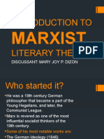 INTRODUCTION TO MARXIST LITERARY THEORY