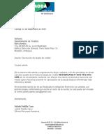 Carta Externa (Documentar Procesos)