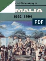 Somalia 1992-1994