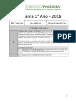 Programa Matem 1ro 2020