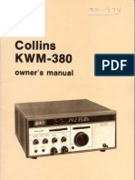 Collins KWM-380 owner's manual 2nd edition 1 January 1981 (sm)