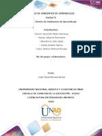 Plantilla de trabajo - Paso 4 -Diseño de Ambientes de Aprendizaje