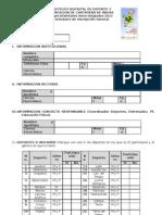 FORMULARIO INSCRIPCION GENERAL JID2011-2