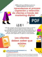 Comprendemos el proceso de captación y retención de clientes a través del marketing digital