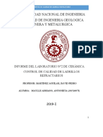 Informe Del Laboratorio 2 Ceramica