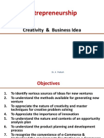 Creativity and Biz Idea