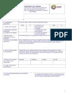 Ficha Técnica Proyectos Desarrollo Cooperación