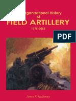 The Organizational History of Field Artillery