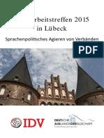 2015_IDV_ Auslandsgesellschaft Deutschland. Lübeck